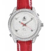 ジェイコブ時計スーパーコピー クォーツ ダイヤモンド デイト タイプ 新品メンズ