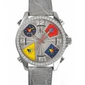 ジェイコブ時計スーパーコピー クォーツステンレス ダイヤモンド グレー タイプ 新品ユニセックス