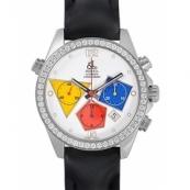 ジェイコブ時計スーパーコピー 自動巻きステンレス ダイヤモンド ホワイト タイプ 新品ユニセックス