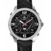 ジェイコブ 腕時計スーパーコピークォーツダイヤモンド ブラック アラビア タイプ 新品メンズ