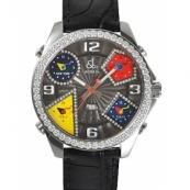 ジェイコブ時計スーパーコピークォーツダイヤモンド グレー アラビア タイプ 新品メンズ