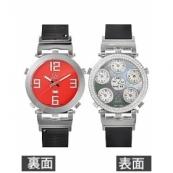 ジェイコブ時計スーパーコピー クォーツダイヤモンド ブラック/レッド