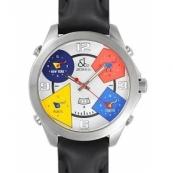 ジェイコブ時計スーパーコピー ザファイブタイムゾーン ホワイト