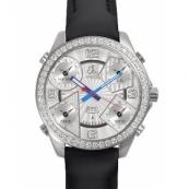 ジェイコブ腕時計スーパーコピー クォーツステンレス ダイヤモンド シルバー