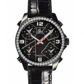 ジェイコブ時計スーパーコピー クォーツステンレスPVD加工 ブラック