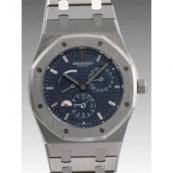 オーデマピゲ時計スーパーコピーロイヤルオーク デュアルタイム26120ST.OO. 1220ST.02
