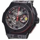 ウブロ時計スーパーコピー ビッグバン フェラーリ オールブラック 世界限定1000本401.CX.0123.VR