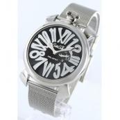 ガガミラノ時計スーパーコピー スリム46mm スモールセコンド ブラック メンズ 5080.2