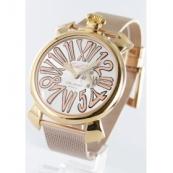 ガガミラノコピー腕時計 スリム46mm スモールセコンド PGPシルバー メンズ 5081.2
