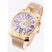 ガガミラノ コピー腕時計スリム46mm スモールセコンド PGPシルバー メンズ 5081.3