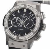 ウブロ時計スーパーコピー クラシックフュージョン チタニウム クロノグラフ ダイヤモンド541.NX.1170.LR.1104