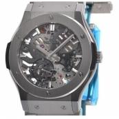 ウブロ時計スーパーコピー クラシックフュージョン クラシコ ウルトラシン スケルトン チタニウム545.NX.0170.NX