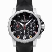 コルム アドミラルズカップ メンズ 腕時計 チャレンジ クロノグラフ 激安753.691.20/F371 AN92