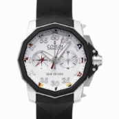 コルム 新品 アドミラルズカップ メンズ 腕時計 リープセコンド店舗895.931.06/0371 AA92