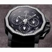 コルム アドミラルズカップ メンズ 腕時計 チャレンジャー40 クロノグラフ 価格984.970.97/F371 AN32