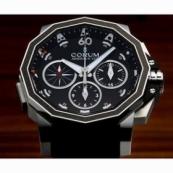 コルムアドミラルズカップ メンズ 腕時計 チャレンジ44 スプリットセコンド クロノグラフ店舗 986.691.11/F371 AN92