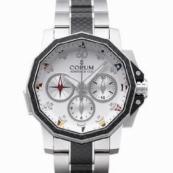 コルム アドミラルズカップ メンズ 腕時計 チャレンジ スプリットセコンド クロノグラフ超安 986.691.11/V761-AA92