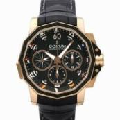 コルム アドミラルズカップ メンズ 腕時計 チャレンジ44 スプリットセコンド クロノグラフ新作 986.691.13/0001 AN32