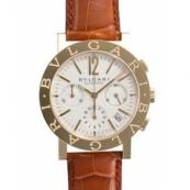 ブルガリ 時計 ブルガリブルガリ コピークロノ BB38WGLDCH/N