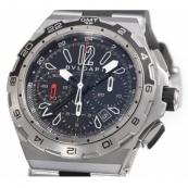 ブルガリスーパーコピー時計 ディアゴノ X‐PRODP45BSTVDCH/ GMT