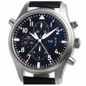 IWC時計スーパーコピー パイロットウォッチ ダブルクロノIW377801
