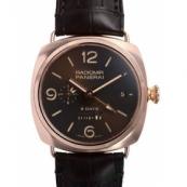 パネライ時計スーパーコピーラジオミール 8デイズGTM オロロッソ 世界500本限定PAM00395