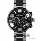 ルイ・ヴィトンコピー タンブールインブラッククロノブランド LV腕時計 Q114K