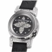 ルイ・ヴィトンコピー腕時計 タンブールビジュ ノワール Q151K1