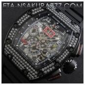 リシャール・ミル時計スーパーコピーフェリペ・マッサ, Asian 7750搭載 28800振動新品