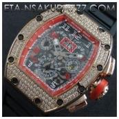 リシャール・ミル時計スーパーコピーフェリペ・マッサ, Asian 7750搭載 28800振動価格