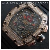 リシャール・ミル時計スーパーコピーフェリペ・マッサ, Asian 7750搭載 28800振動激安