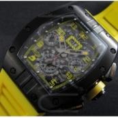 高級時計リシャール・ミルフェリペ・マッサAsian 7750搭載 28800振動