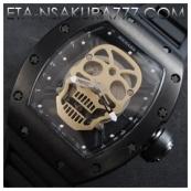 リシャール・ミル時計スーパーコピー トゥールビヨン スカル,SWISS ETA 2671搭載新作