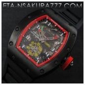 リシャール・ミル時計スーパーコピー フェリペ・マッサ, Asian 21600振動激安