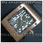 リシャール・ミル時計スーパーコピー フェリペ・マッサ, Asian 21600振動新品
