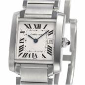 コピーカルティエ 時計 タンクフランセーズ MM W51011Q3