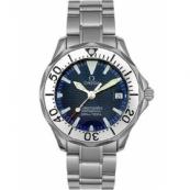 オメガ時計スーパーコピー シーマスター N級品プロダイバーズ 2285.80 ブルー レディース