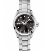 オメガ シーマスター時計スーパーコピー アクアテラ ダイヤインデックス グレー レディース 231.10.30.60.56.001