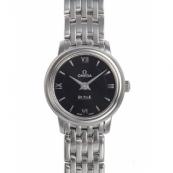 オメガ デ・ビル時計スーパーコピー プレステージ ブラック 424.10.24.60.01.001