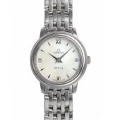オメガ デ・ビル時計スーパーコピー プレステージ ホワイトシェル 424.10.24.60.05.001