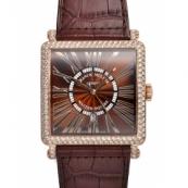 フランクミュラースーパーコピー時計 マスタースクエア 超安 6000KSCDTD RELIEF