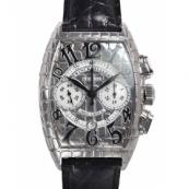 フランクミュラースーパーコピー時計 トノーカーベックス アイアンクロコクロノ 8880CCAT IRON CRO
