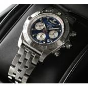 ブライトリング時計スーパーコピー ウインドライダー クロノマット44 A012C88PA 青/銀文字盤
