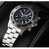 ブライトリング腕時計スーパーコピー スーパーオーシャンクロノグラフ A110B83PRS 黒/青文字盤