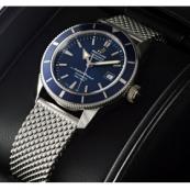 ブライトリング時計スーパーコピー スーパーオーシャンヘリテージ 42 青文字盤 A170C32OCA