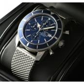 ブライトリング時計スーパーコピー スーパーオーシャンヘリテージクロノ 青文字盤 A272C58OCA