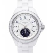 シャネル 腕時計スーパーコピー コピー38 ファーズドゥリュヌ ホワイト新作 セラミック H3404