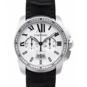 カルティエ時計スーパーコピー カリブル コピードゥ カルティエ クロノグラフ W7100046