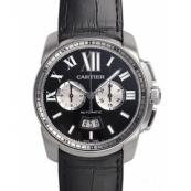 カルティエ腕時計スーパーコピー カリブル超安ドゥ カルティエ クロノグラフ W7100060