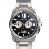 カルティエ 腕時計スーパーコピーカリブル コピードゥ カルティエ クロノグラフ W7100061